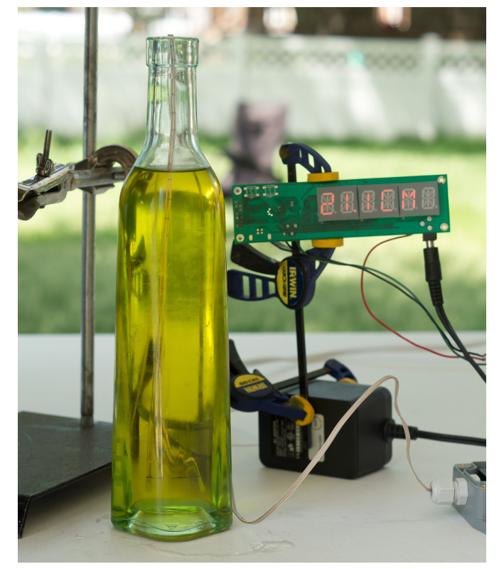 AquaPlumb Liquid Level Sensor - Olive Oil