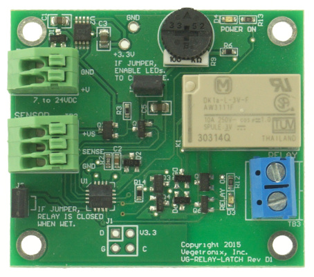Latching Relay Board for Moisture Sensors